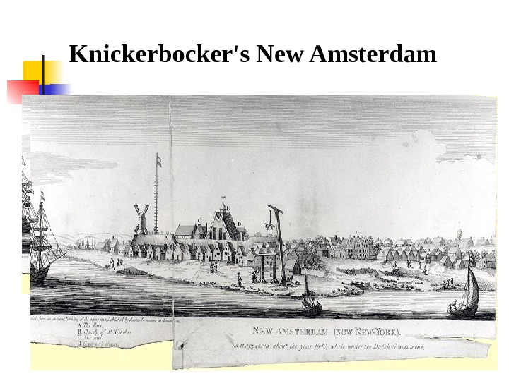 Knickerbocker's New Amsterdam