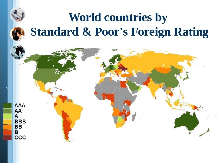 World countries by Standard & Poor's Foreign Rating