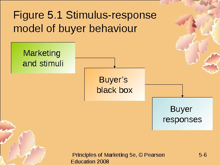 Principles of Marketing 5 e, © Pearson Education 2008 5 - 6 Figure 5.