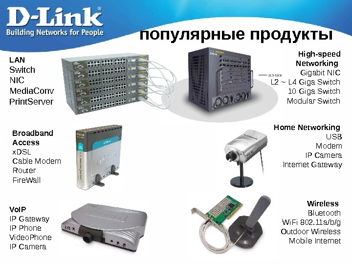 LAN Switch NIC Media. Conv Print. Server High-speed Networking  Gigabit NIC L 2