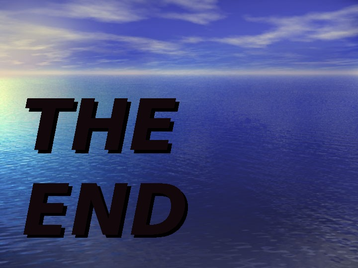THE ENDEND