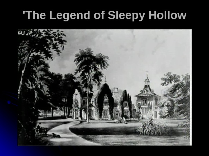 'The Legend of Sleepy Hollow