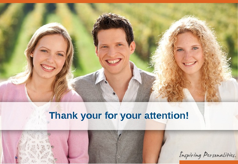 EBS Universität, Marketing / 10. 09. 201431 Thank your for your attention!
