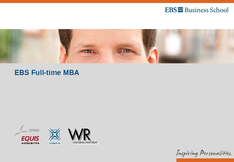 EBS Full-time MBA