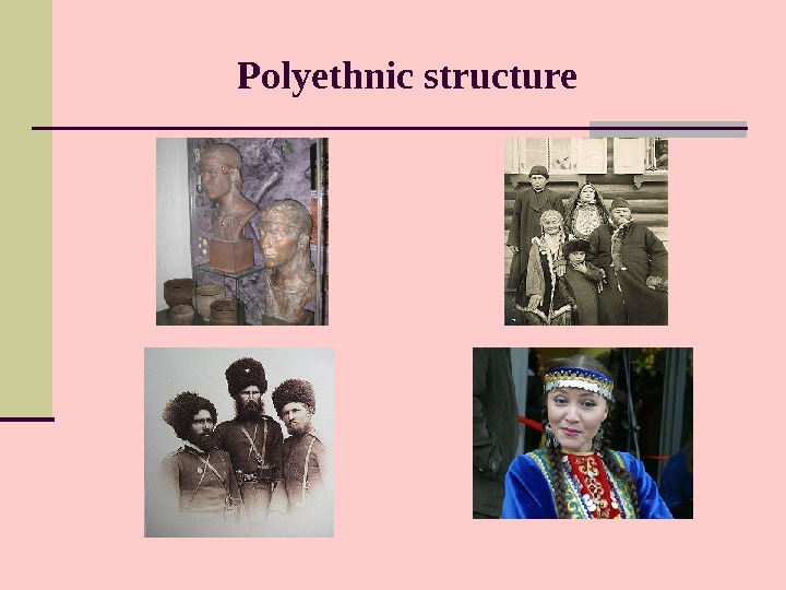 Polyethnic structure
