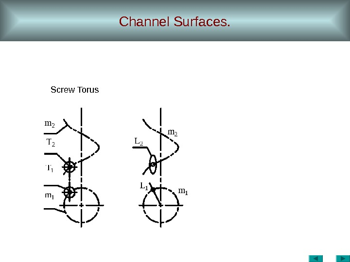 Channel Surfaces. Screw Torus