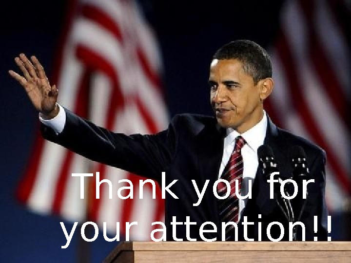 Thank youfor your attention !!