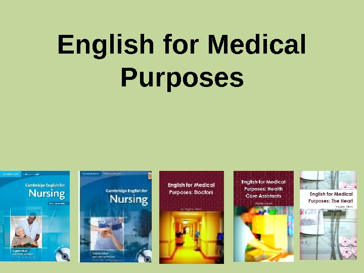 English for Medical Purposes