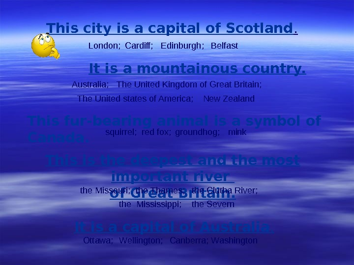 This city is a capital of Scotland. It is a mountainous country.  This is the