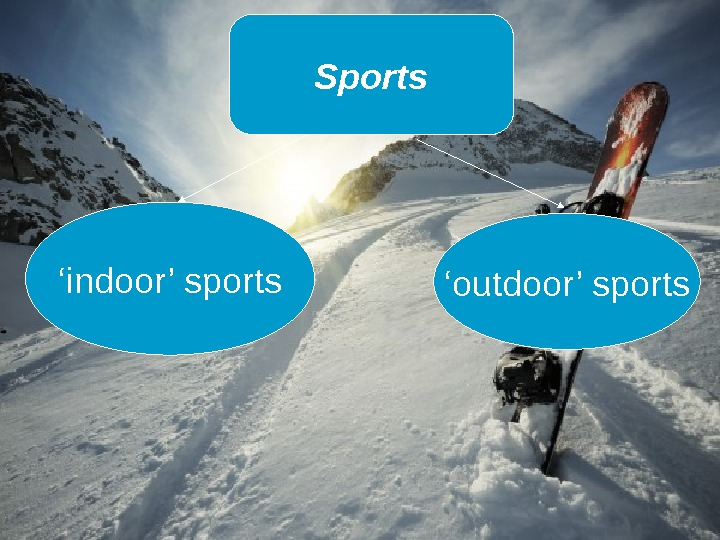 Sports ' indoor' sports ' outdoor' sports