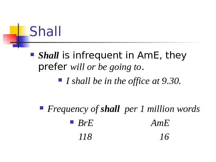 Shall is infrequent in Am. E, they prefer will or be going to.