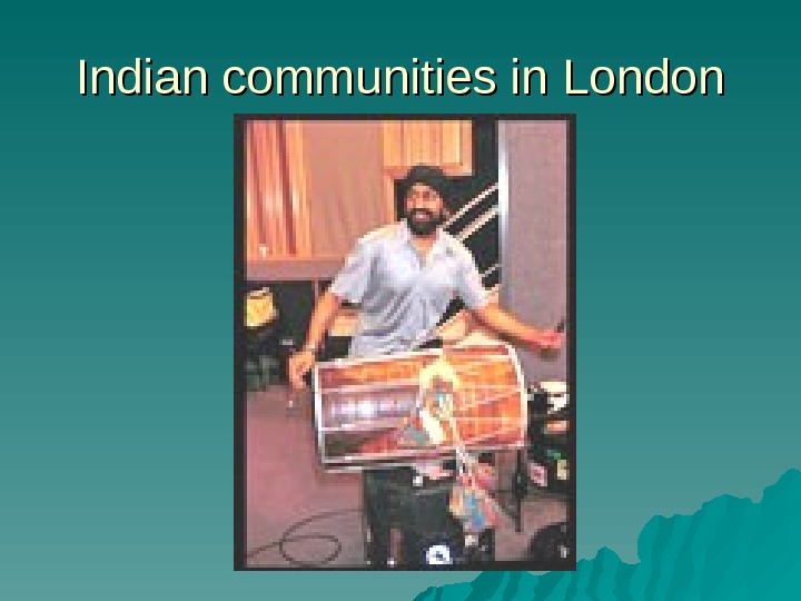 Indian communities in London