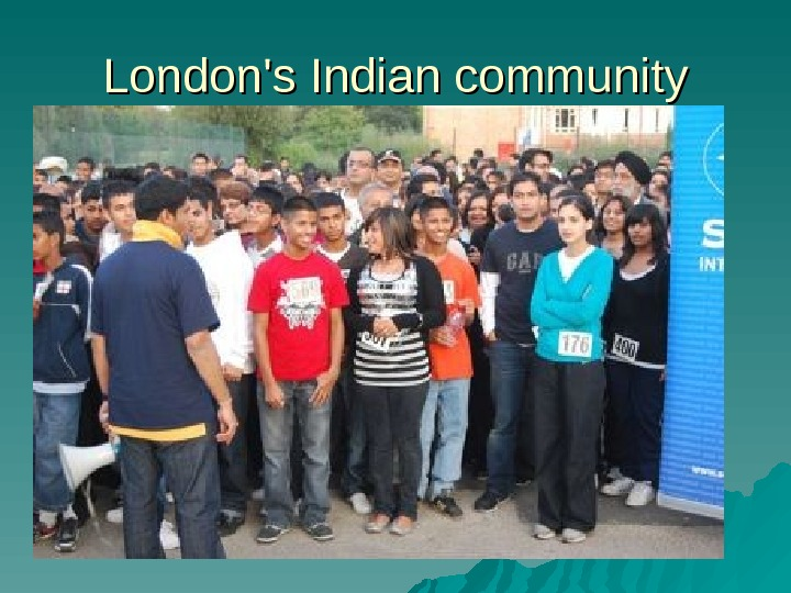London's Indian community