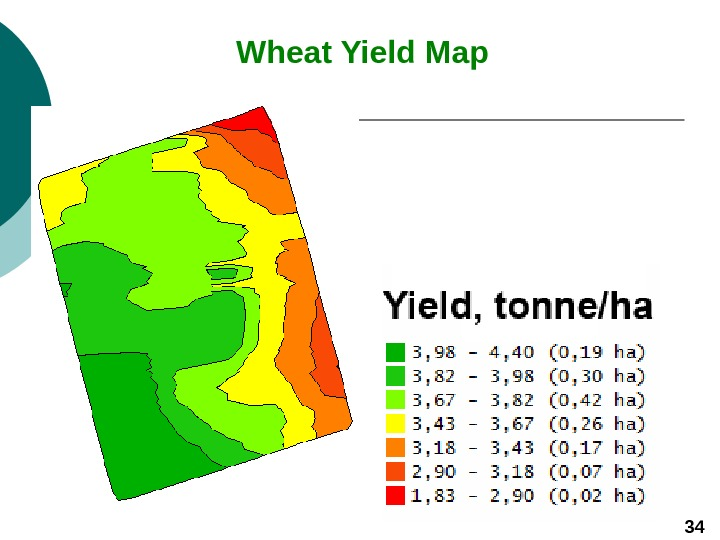 Wheat Yield Map  34