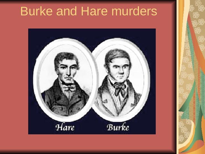 Burke and Hare murders