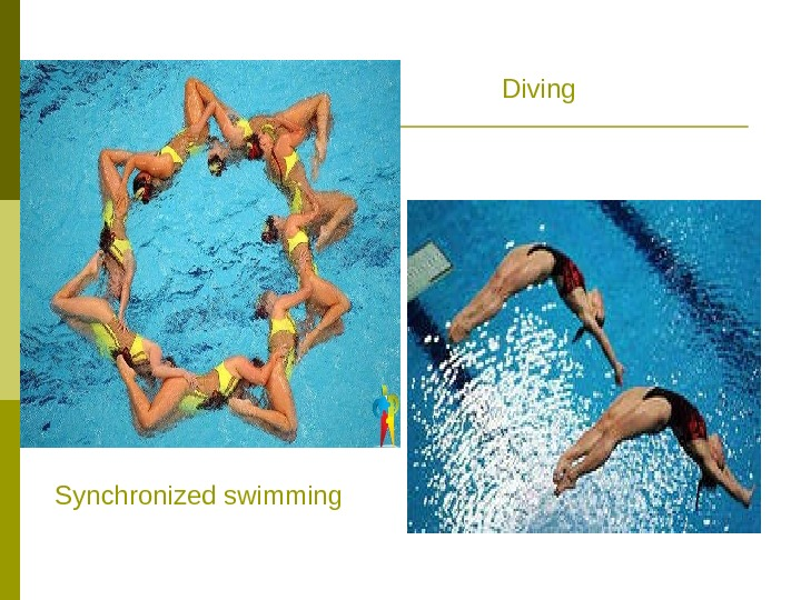 Diving Synchronized swimming