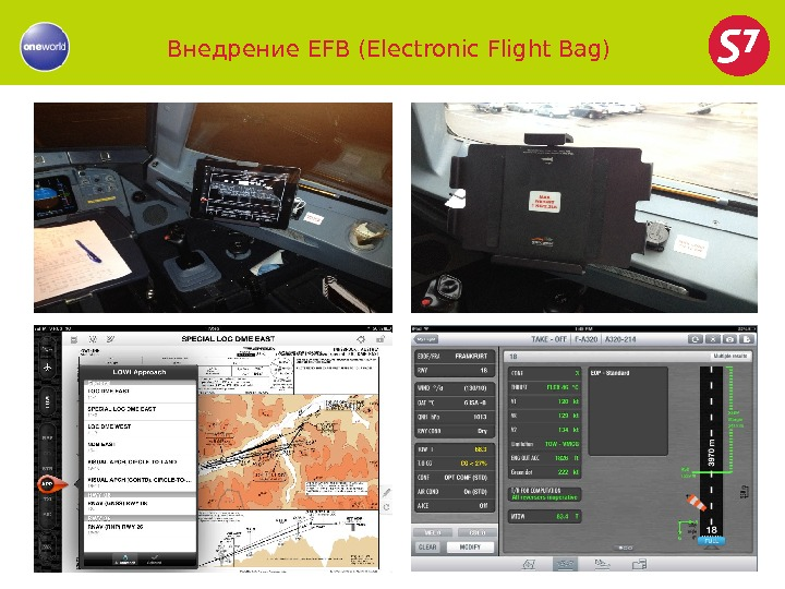 Внедрение EFB (Electronic Flight Bag)