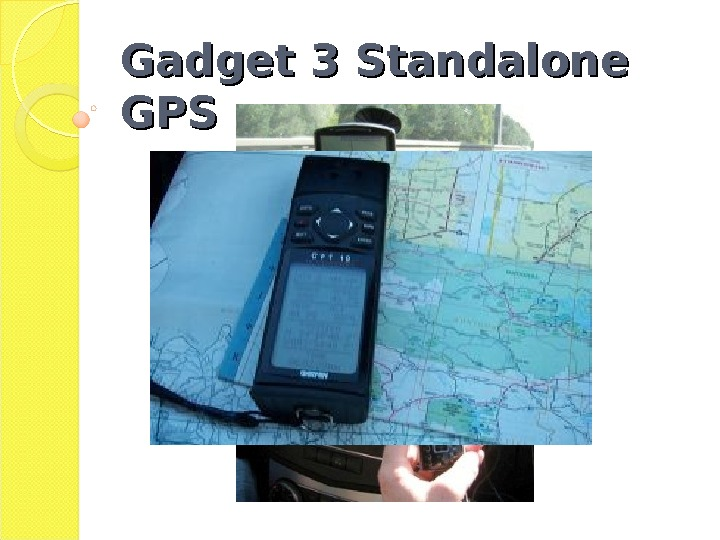 Gadget 3 Standalone GPSGPS