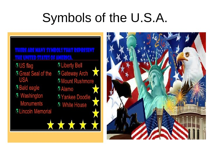 S ymbols of the U. S. A.