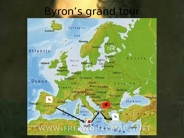 Byron's grand tour