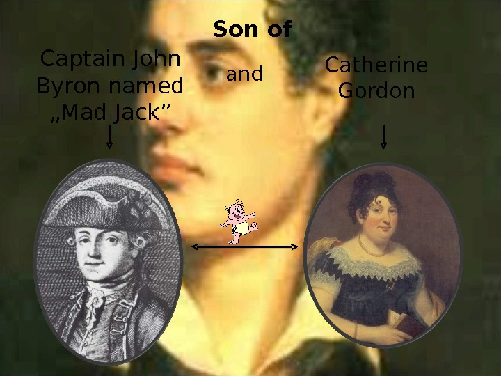 "Captain John Byron named ""Mad Jack"" and Catherine Gordon. Son of"