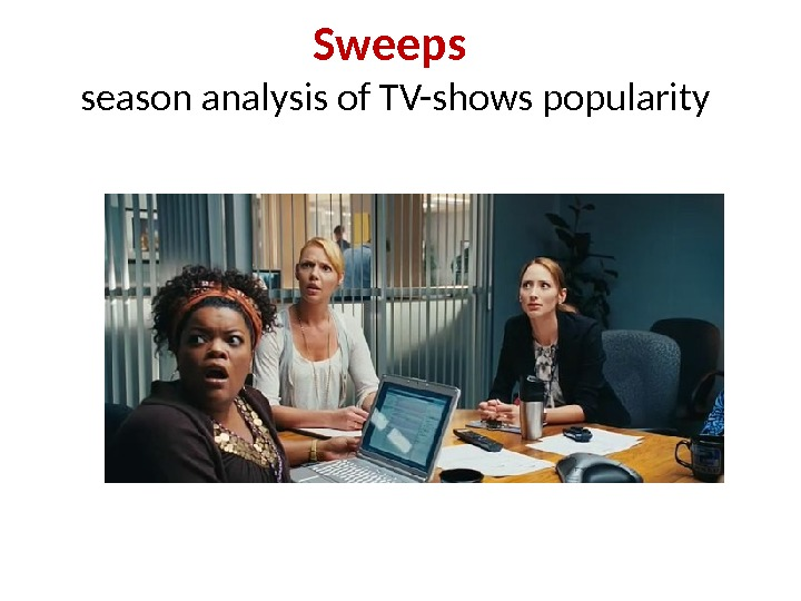 Sweeps season analysis of TV-shows popularity