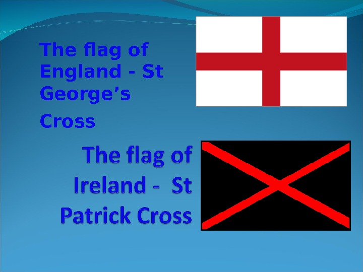 The flag of England - St George's Cross