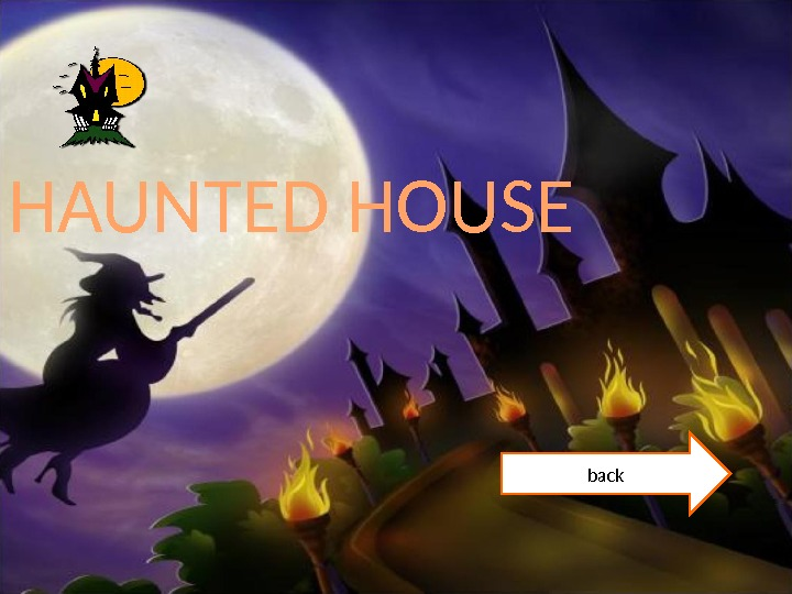 HAUNTED HOUSE back