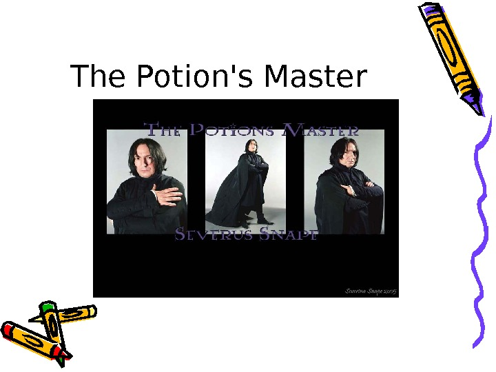 The Potion's Master