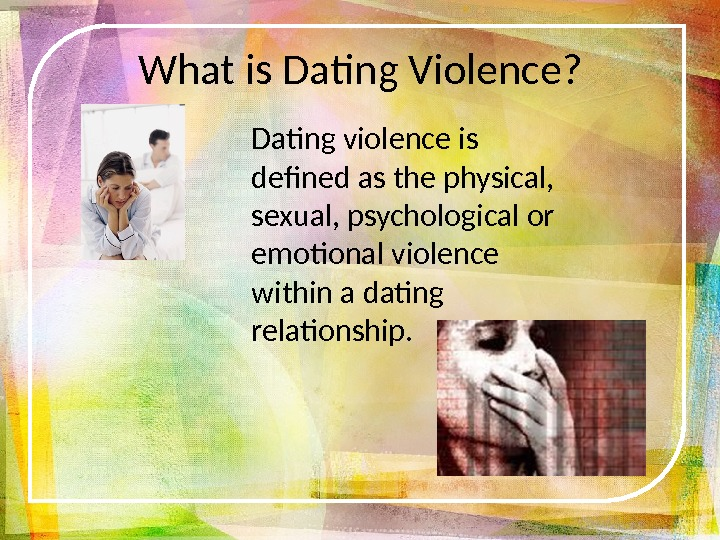 Healthy dating relationships powerpoint