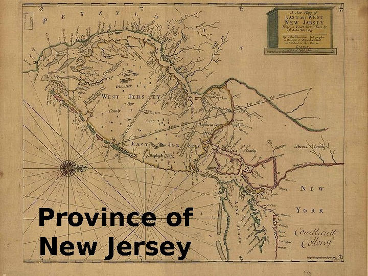 Province of New Jersey