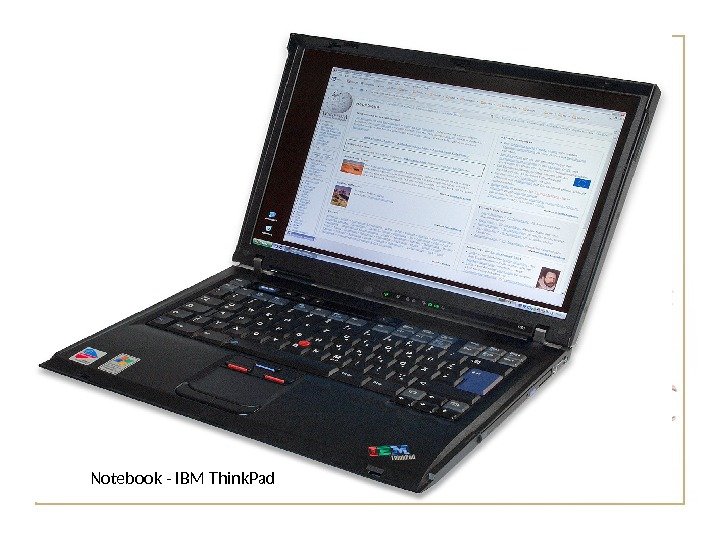 Notebook - IBM Think. Pad