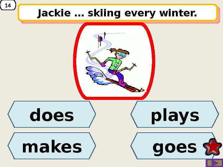 14 Jackie … skiing every winter. does makes goesplays 01