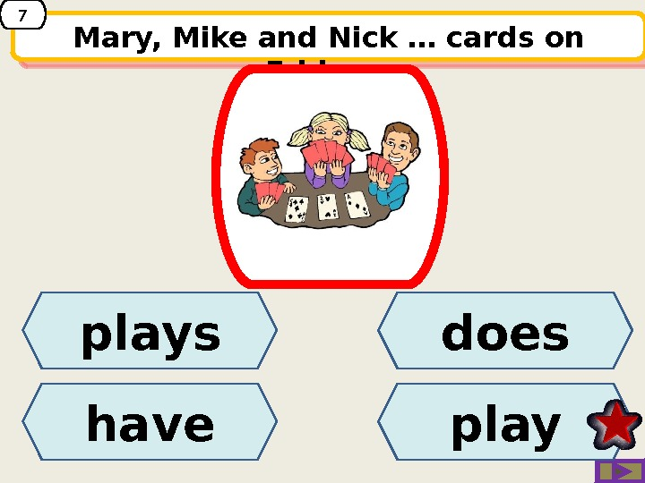 Mary, Mike and Nick … cards on Fridays. plays have playdoes 714 20