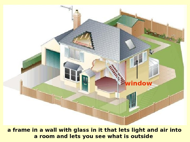 window a frame in a wall with glass in it that lets light and