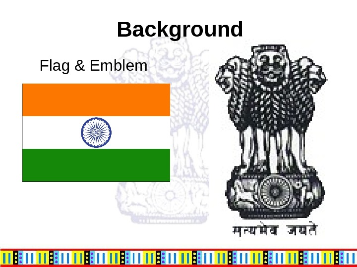 Background Flag & Emblem