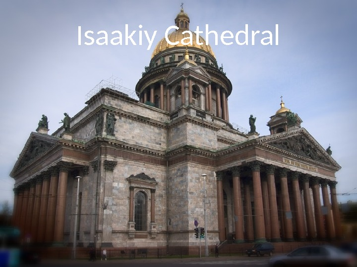 Isaakiy Cathedral