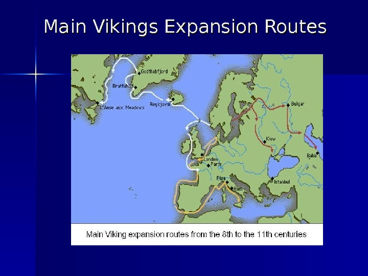 Main Vikings Expansion Routes