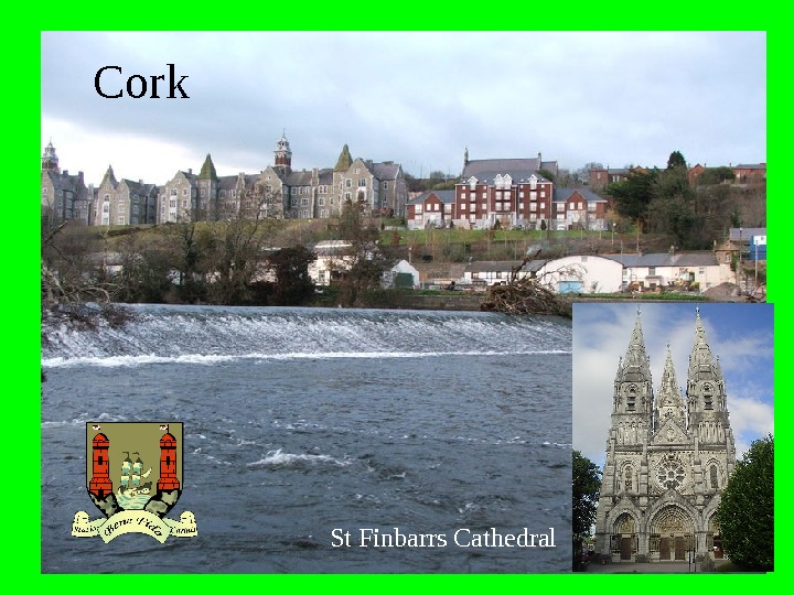 St  Finbarrs  Cathedral. Cork