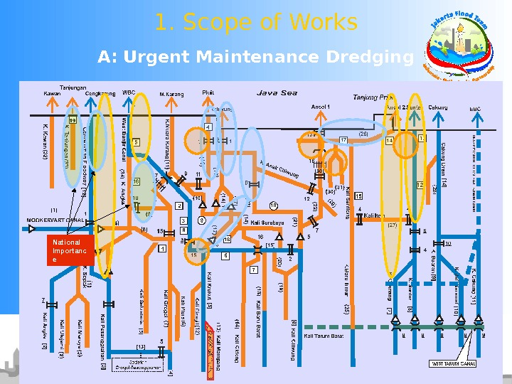A: Urgent Maintenance Dredging 1. Scope of Works National Importanc e