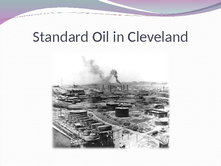 Standard Oil in Cleveland