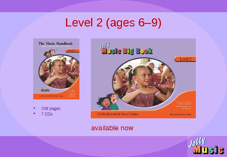 Level 2 (ages 6– 9) availablenow 208 pages 7 CDs