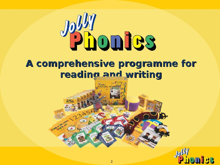 A comprehensive programme for reading and writing 2