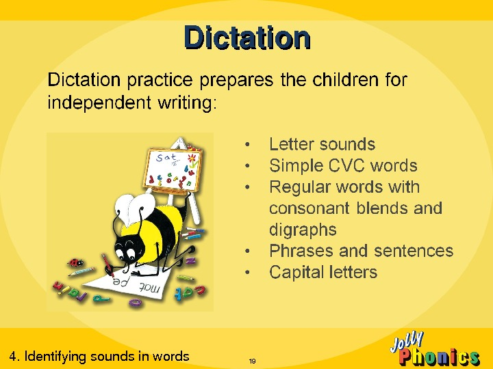 Dictation 194. Identifyingsoundsinwords