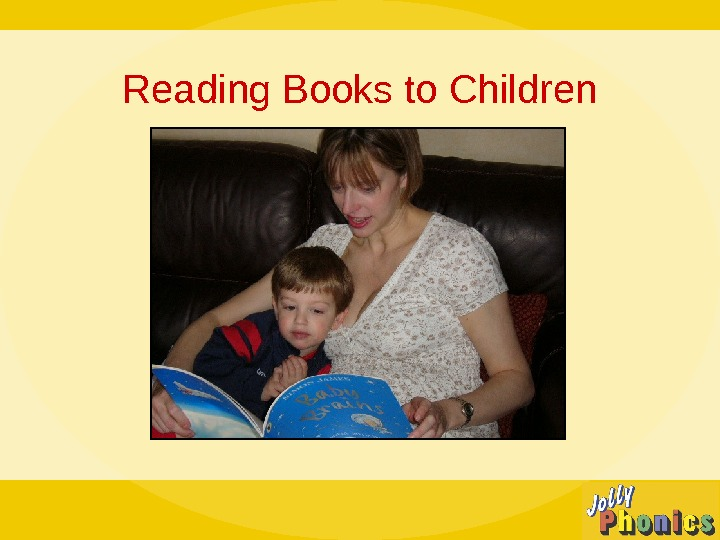Reading Books to Children
