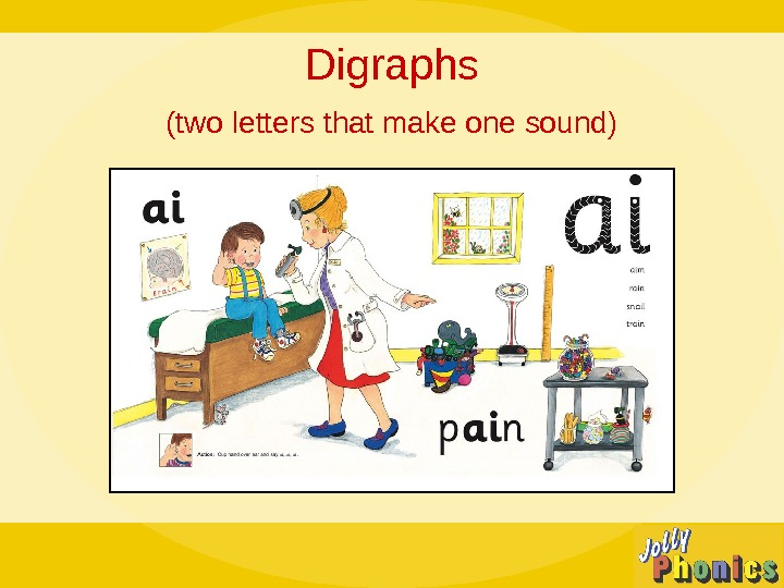 Digraphs (two letters that make one sound)