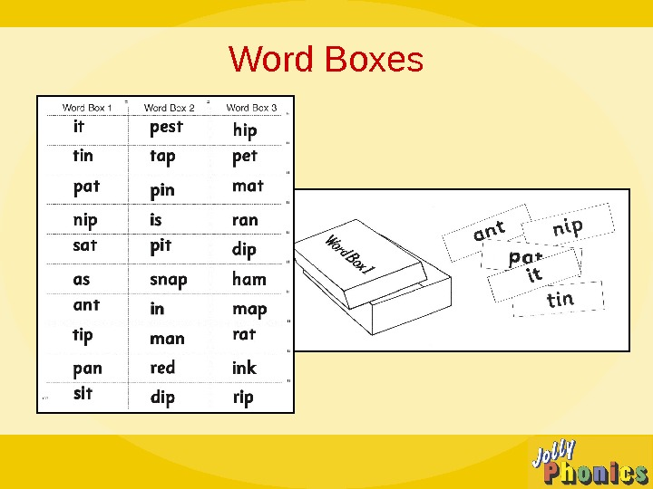 Word Boxes