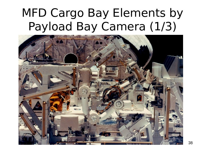 MFD Cargo Bay Elements by Payload Bay Camera (1/3) 38