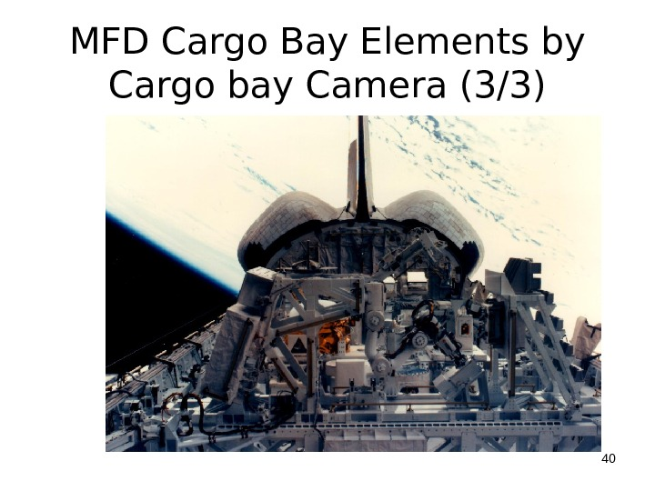 MFD Cargo Bay Elements by Cargo bay Camera (3/3) 40
