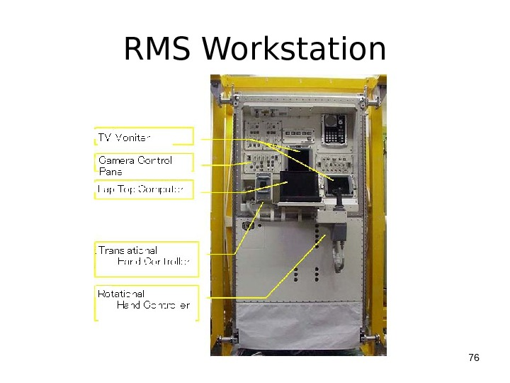 RMS Workstation 76